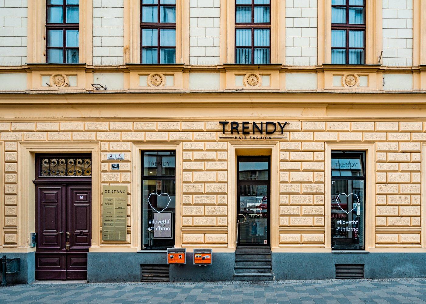 Pronájem prostor budova Central Brno
